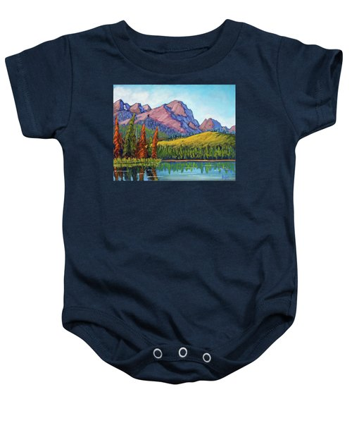 Little Redfish Lake Baby Onesie