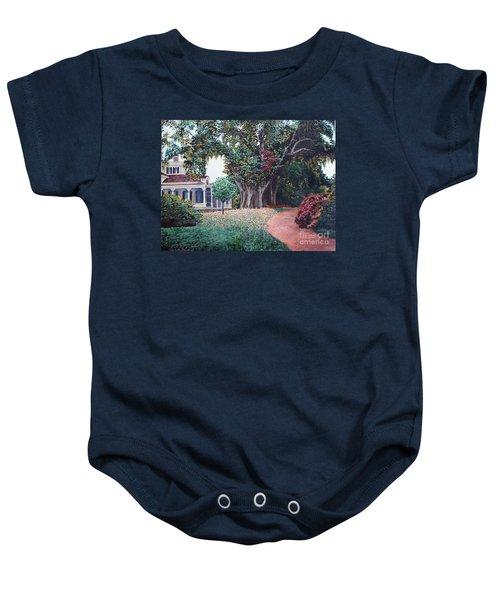 Live Oak Gardens Jefferson Island La Baby Onesie