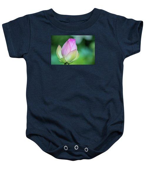 Lotus Bud Baby Onesie