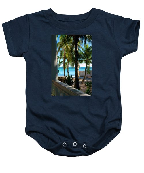 Louie's Backyard Baby Onesie