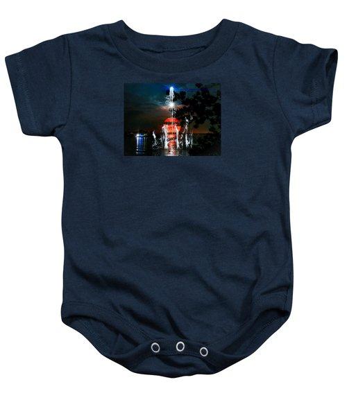 Lunar Event Horizon Baby Onesie