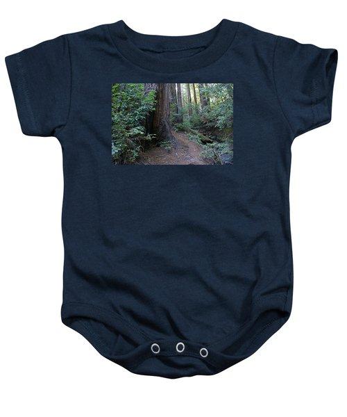 Magical Path Through The Redwoods On Mount Tamalpais Baby Onesie