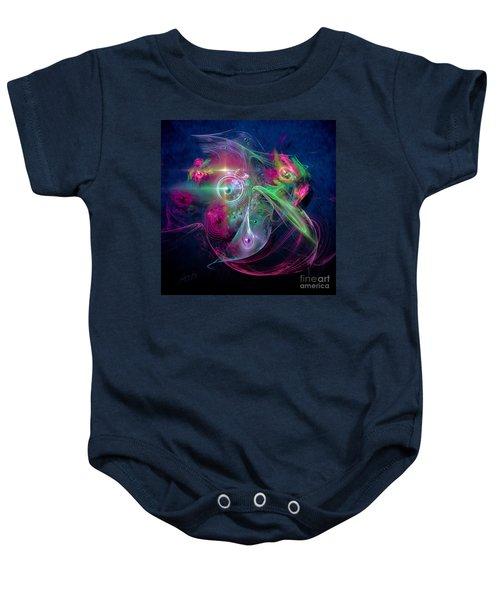Magnetic Fields Baby Onesie