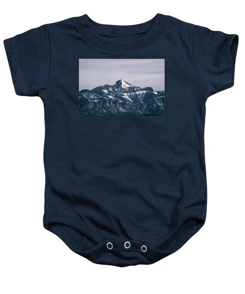 Majestic Morning On Pagosa Peak Baby Onesie