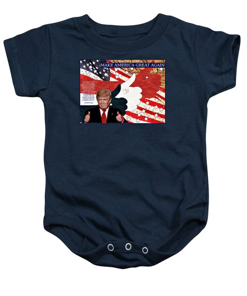 Make America Great Again - President Donald Trump Baby Onesie