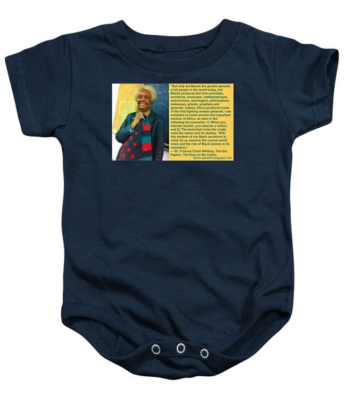 Mama Frances Cress Welsing Baby Onesie
