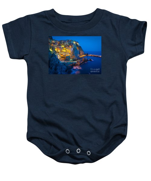 Manarola By Night Baby Onesie