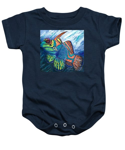 Mandarinfish Baby Onesie