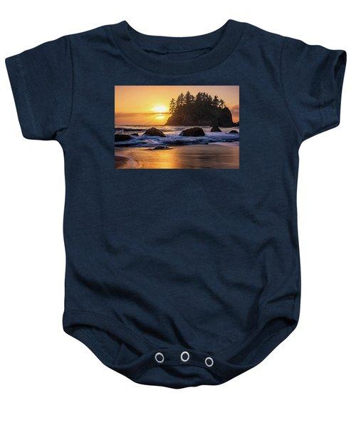 Marine Layer Sunset At Trinidad, California Baby Onesie