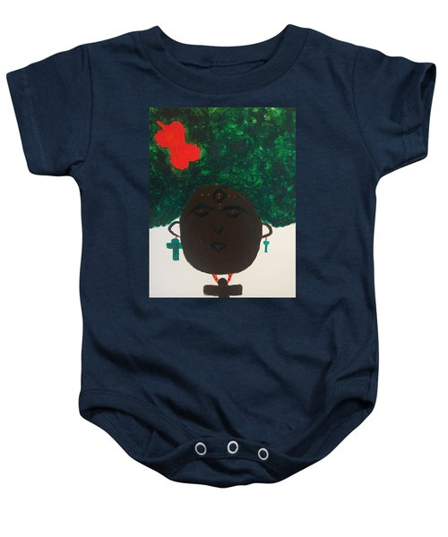 Meditation Queen  Baby Onesie