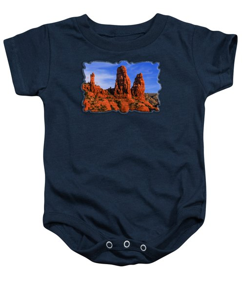 Megalithic Red Rocks Baby Onesie