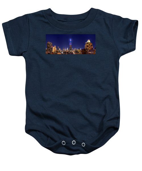 Mets Dominance Baby Onesie by Az Jackson