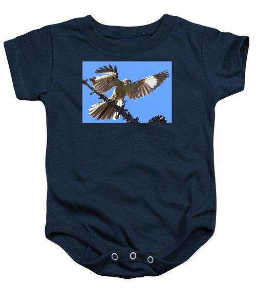 Mockingbird Sees Me I Baby Onesie