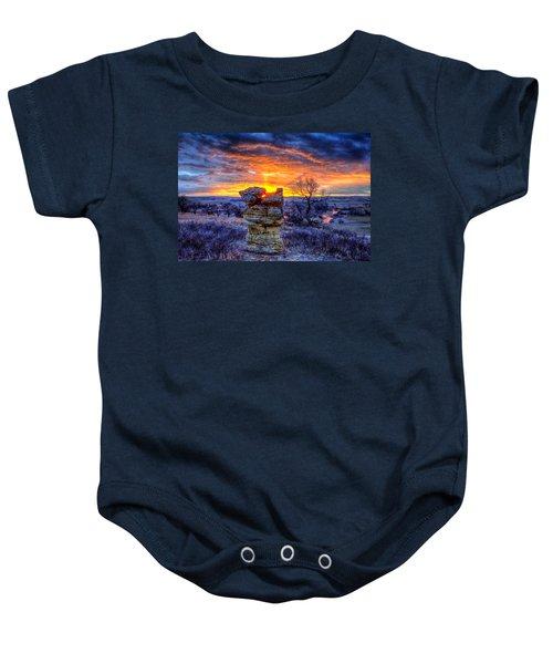 Monolithic Sunrise Baby Onesie