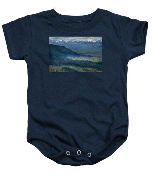 Montana Mountain Vista #3 Baby Onesie