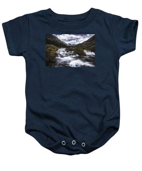 Monte Cristo Creek Baby Onesie
