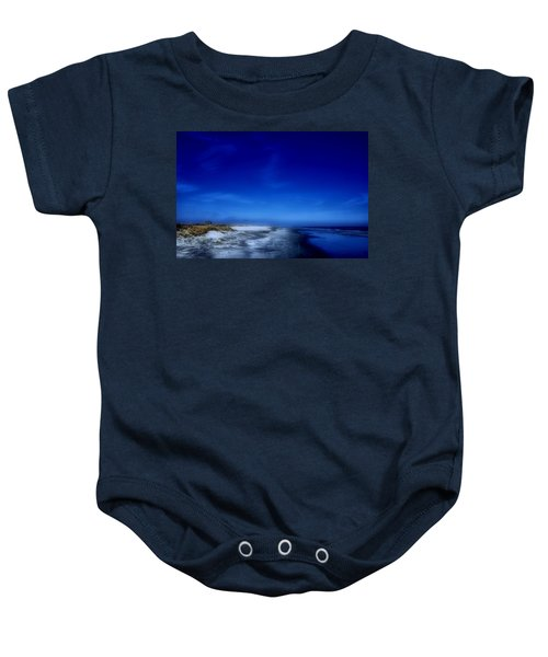 Mood Of A Beach Evening - Jersey Shore Baby Onesie