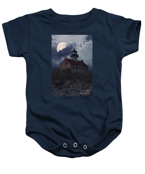 Moonlight At East Point Baby Onesie