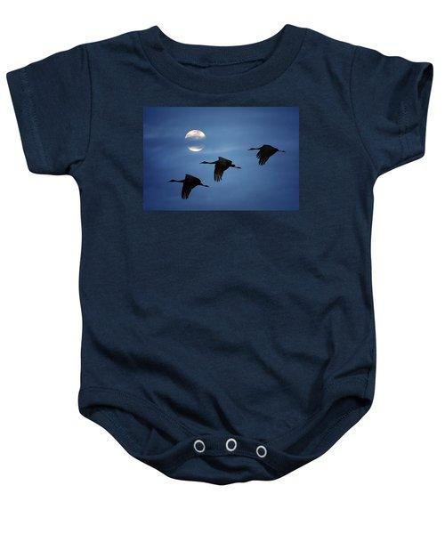 Moonlit Flight Baby Onesie