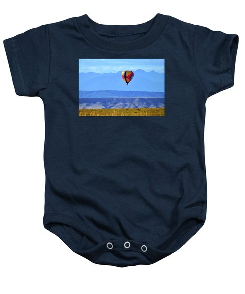 Morning In Montana Baby Onesie
