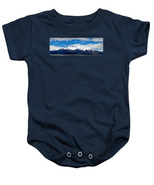Mt. Princeton Colorado Baby Onesie
