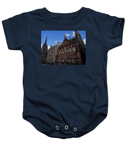 Museo Del Whisky Edimburgo Baby Onesie by Eduardo Abella
