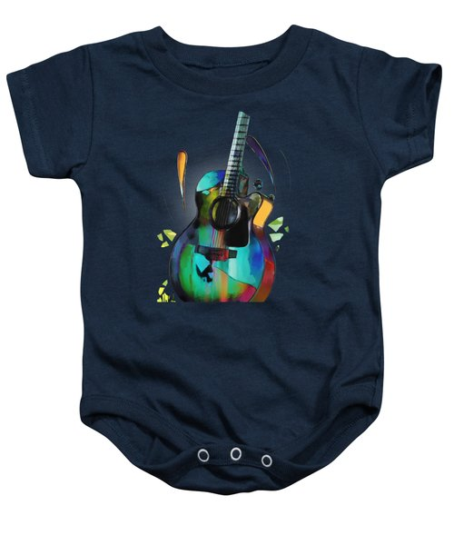 Music In Colour Baby Onesie