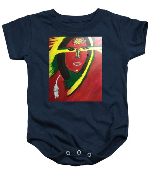 native Queen  Baby Onesie