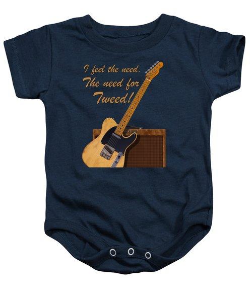 Need For Tweed Tele T Shirt Baby Onesie