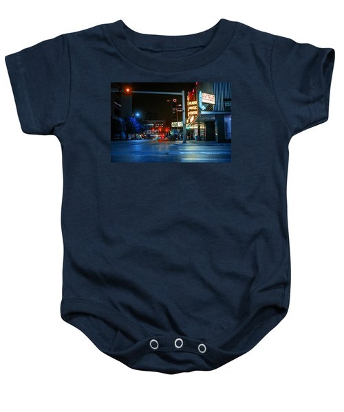 Never The Right Time Baby Onesie