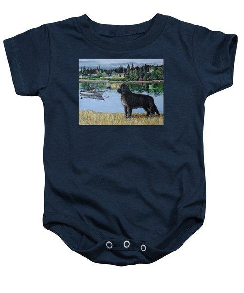 Newfoundland In Labrador Baby Onesie