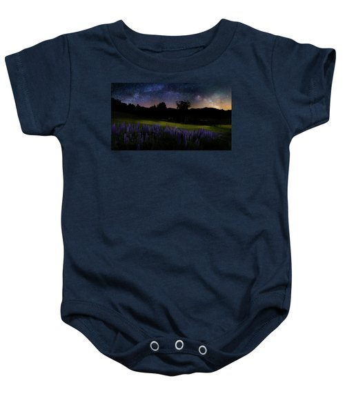 Baby Onesie featuring the photograph Night Flowers by Bill Wakeley