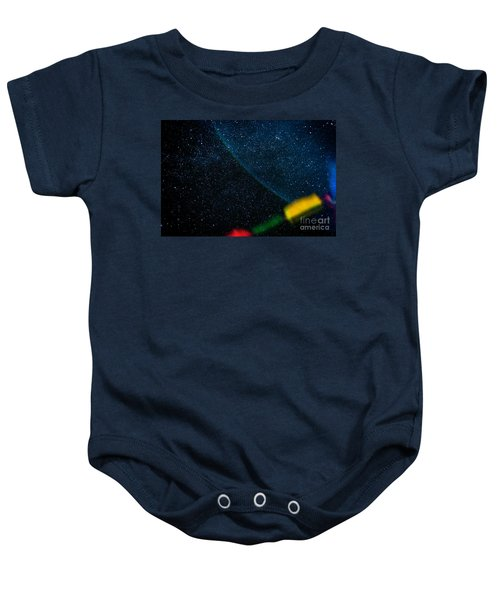 Nightscape Stars In Himalayan Mountain Baby Onesie