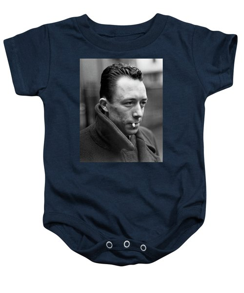 Nobel Prize Winning Writer Albert Camus Paris, France, 1962 -2015 Baby Onesie