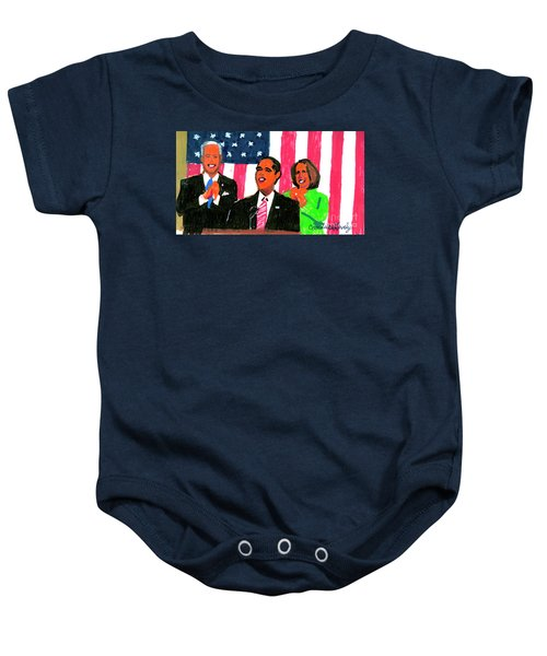 Obama's State Of The Union '10 Baby Onesie