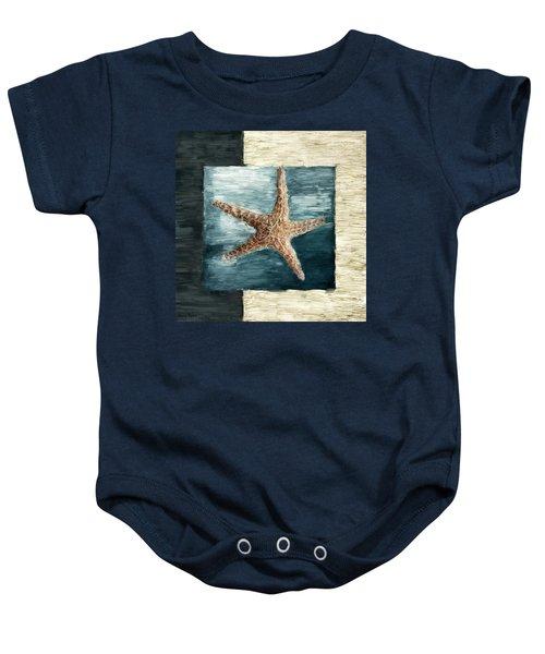 Ocean Gem Baby Onesie