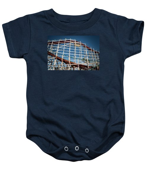 Old Woody Coaster Baby Onesie