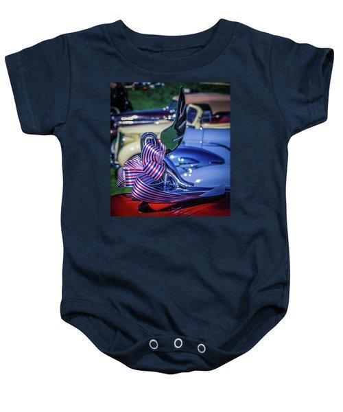 Packard Swan Baby Onesie
