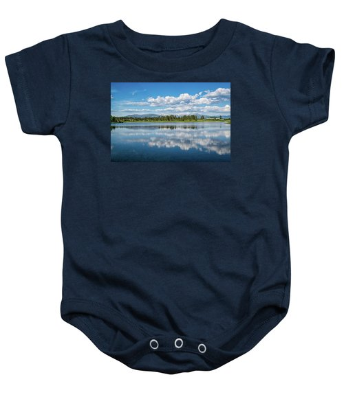Pagosa Summer Reflections Baby Onesie