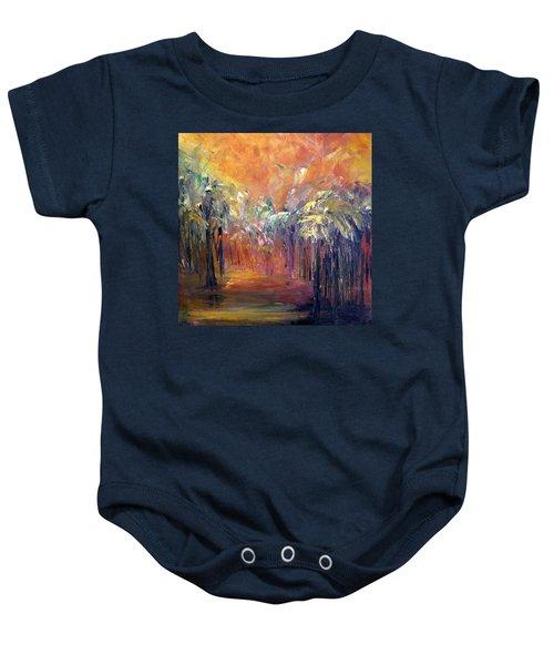 Palm Passage Baby Onesie
