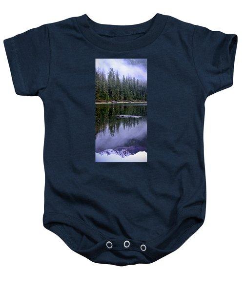 Pamelia Lake Reflection Baby Onesie