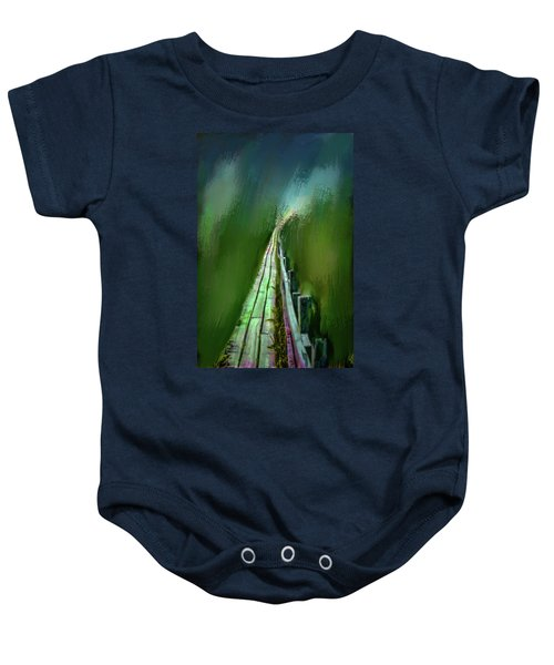 Path To The Unknown #h5 Baby Onesie