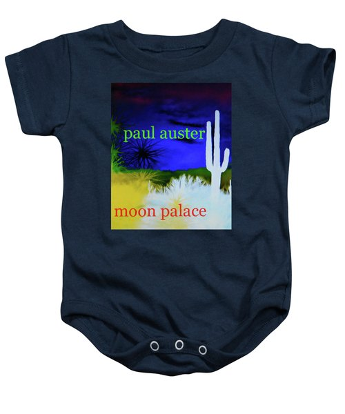 Paul Auster Poster Moon Palace Baby Onesie