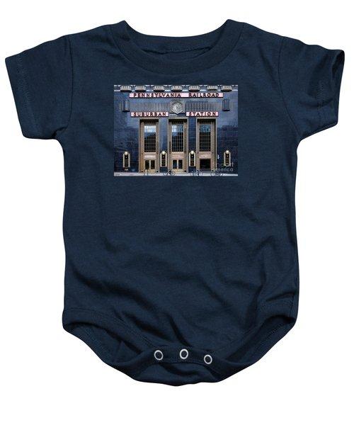 Pennsylvania Railroad Suburban Station Baby Onesie