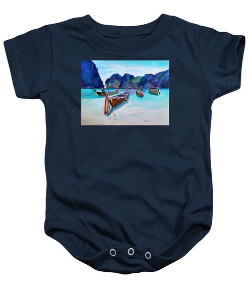 Phi Phi Island Baby Onesie