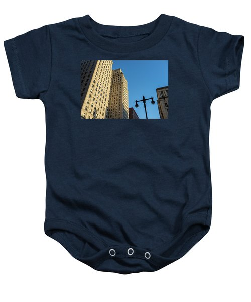 Philadelphia Urban Landscape - 0948 Baby Onesie