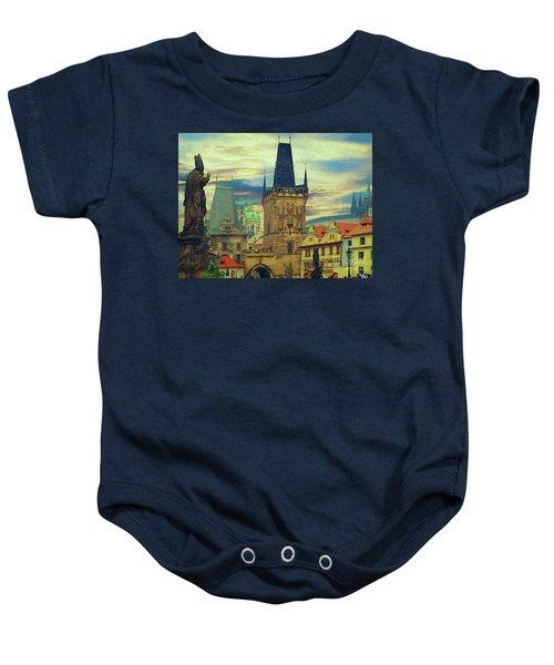 Picturesque - Prague Baby Onesie