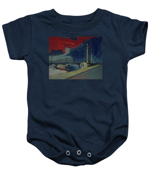 Pont Fragnee In Liege Baby Onesie