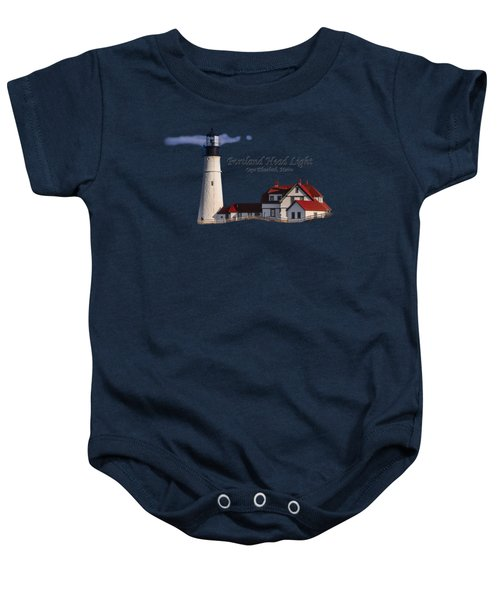 Portland Head Light No. 43 Baby Onesie