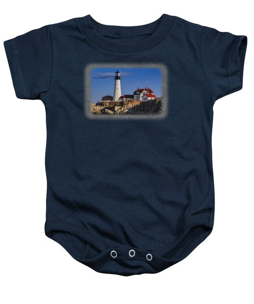 Portland Head Light No. 44 Baby Onesie
